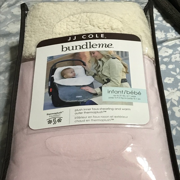 Awe Inspiring Jj Cole Pink Thermaplush Infant Car Seat Cover Nwt Machost Co Dining Chair Design Ideas Machostcouk
